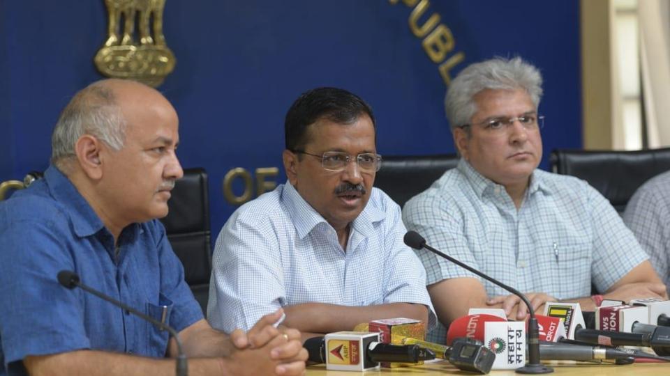 Arvind-Kejriwal-announced-free-travel