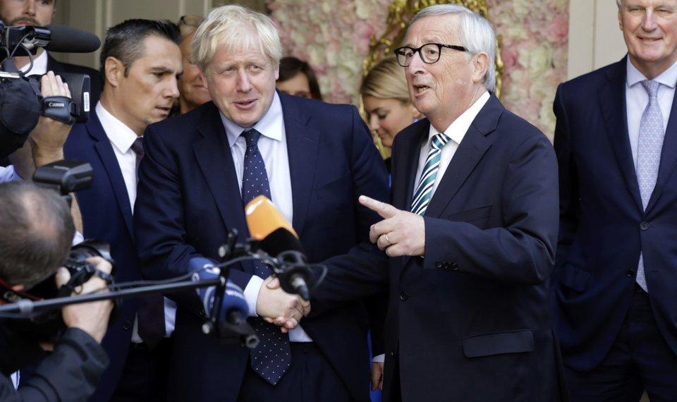 Boris Johnson's Heckled Luxembourg