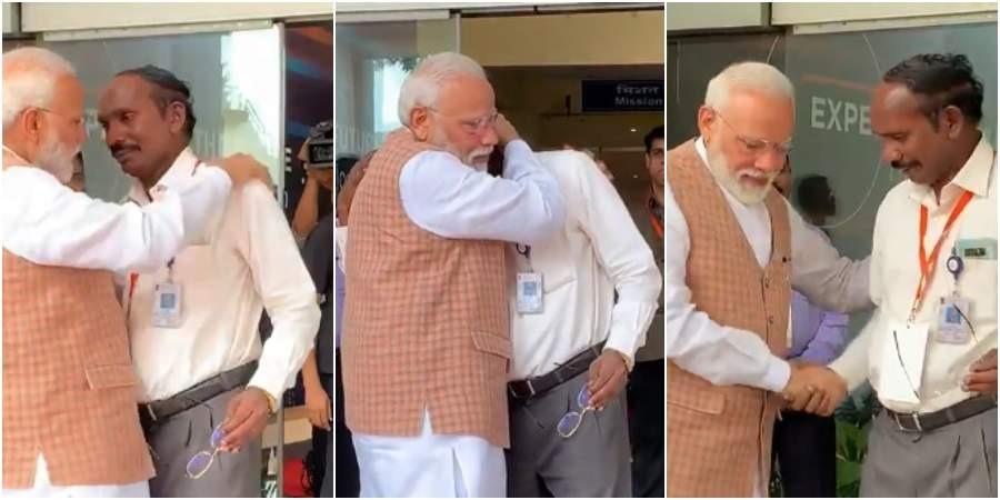 ISRO-Chief-K-Sivan-Broke-down-PM-Modi-hugs