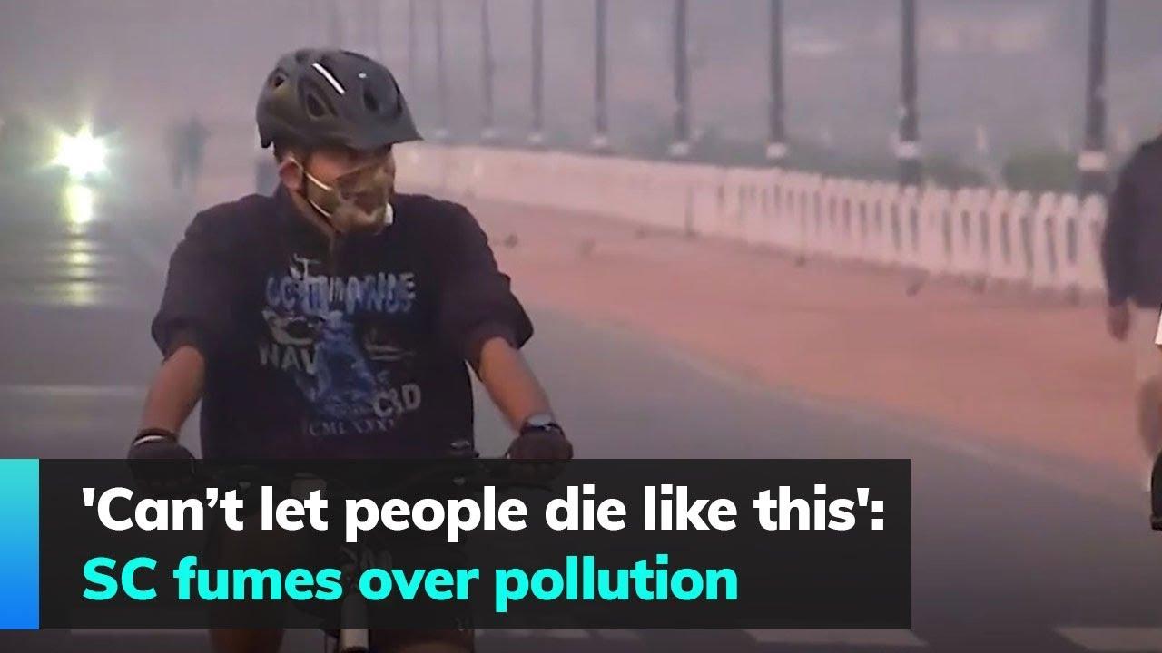 SC-Again-Fumes-Over-Pollution-In-Delhi