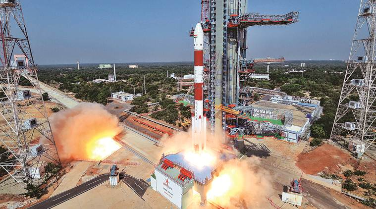 India-Launched-Satellite-Made-By-An-Israeli-School