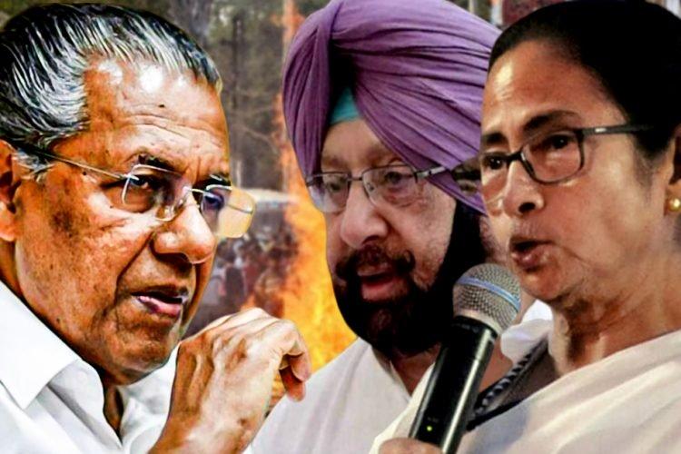 Mamata Banerjee, Punjab And Kerala CMs Also Stand Against Citizenship (Amendment) Bill
