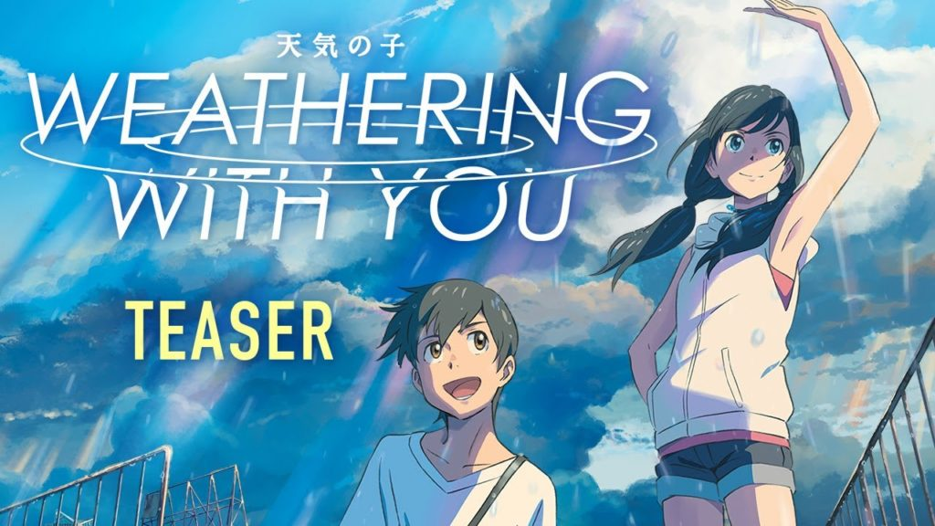 Weathering With You The Movie Wraps A Bigger Concern In A Romantic Way Ht