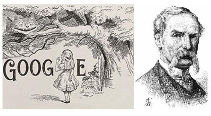 Sir-John-Tenniel-Becomes-Google-Doodle