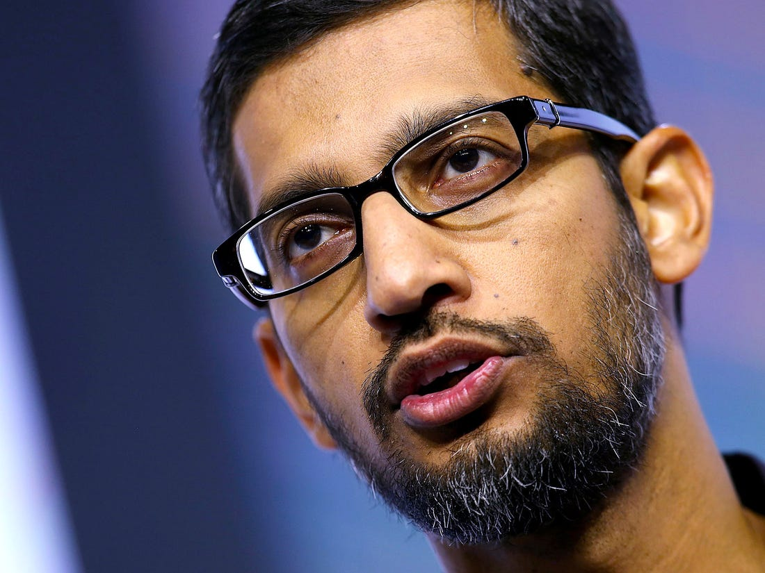 Sunder-Pichai-Sends-Memo-To-His-Employees