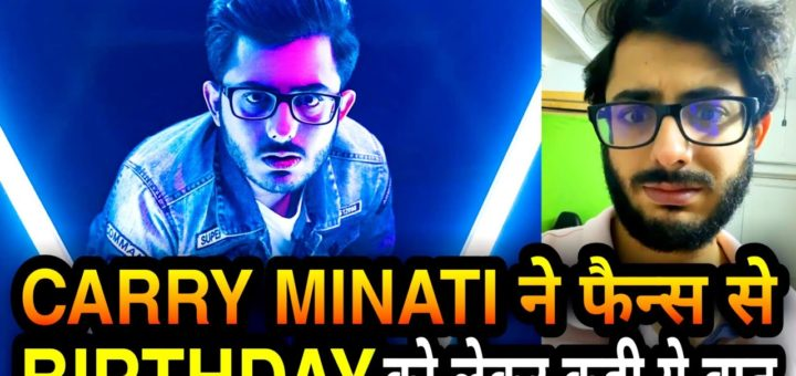 Carry-Minati-Celebrates-Birthday